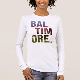 T-shirt À Manches Longues Série de liberté - type de Baltimore