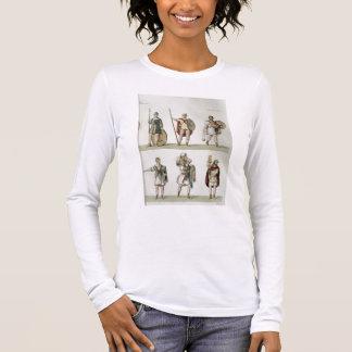 T-shirt À Manches Longues Soldats romains, détail du plat 2, classe 5 de PA