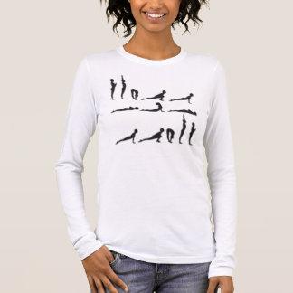 T-shirt À Manches Longues soleil-salutation