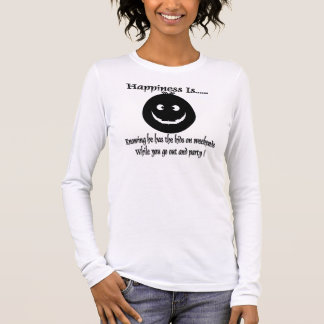 T-shirt À Manches Longues sortez et party