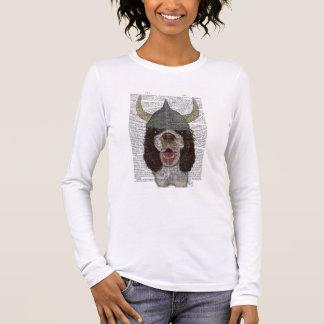 T-shirt À Manches Longues Springer spaniel Viking