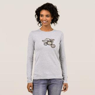 T-shirt À Manches Longues Steampunk embraye la pièce en t
