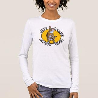 T-shirt À Manches Longues Stérilisez le neutre adoptent l'amour