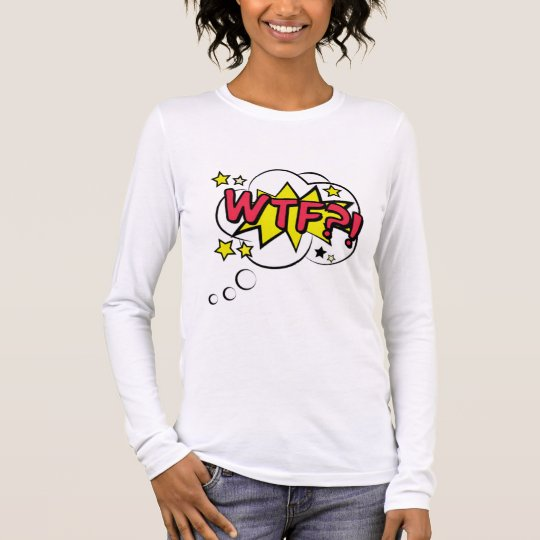 T-shirt À Manches Longues Tee shirt Femme Manches Longues Comics