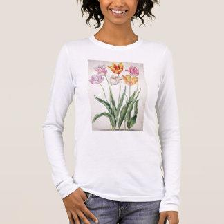 """T-shirt À Manches Longues Tulipes, du """"Florilegium de Nassau"""" (la semaine"""