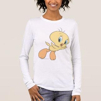 T-shirt À Manches Longues Tweety dans la pose 15 de nuages