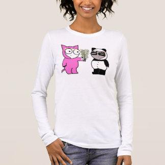T-shirt À Manches Longues Un certain bambou pour le panda triste ?