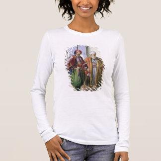 T-shirt À Manches Longues Un Janissary et un négociant au Caire,