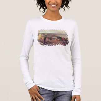 T-shirt À Manches Longues Un village de Connemara - le chemin vers le port,