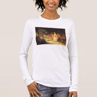 T-shirt À Manches Longues Une actrice avant l'enquête (voyez également