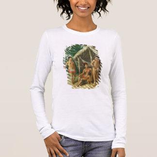 T-shirt À Manches Longues Une famille de Carib de l'Îles-Sous-le-Vent en