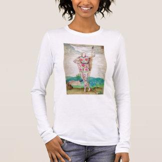 T-shirt À Manches Longues Une jeune fille du Picts, c.1585 (la semaine et