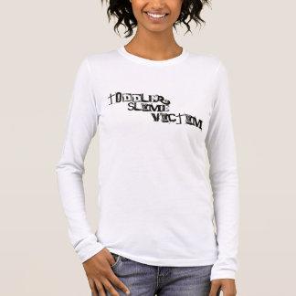 T-shirt À Manches Longues Victime de boue d'enfant en bas âge