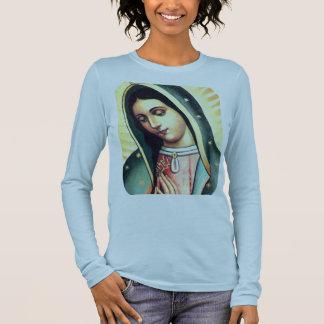 T-shirt À Manches Longues Vierge de l'OBSCURITÉ de Guadalupe