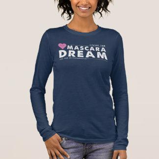T-shirt À Manches Longues Vivant le rêve de mascara