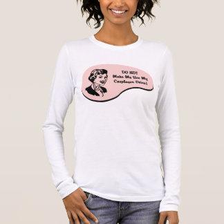 T-shirt À Manches Longues Voix de Cosplayer