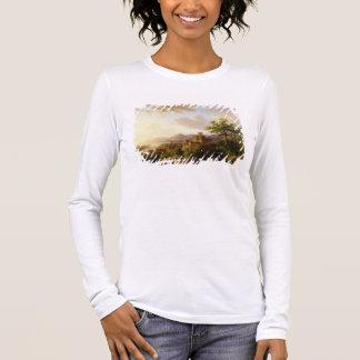 T-shirt À Manches Longues Voyageurs sur un chemin dans un LAN étendu de la