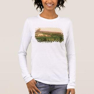 T-shirt À Manches Longues Vue de Carditello (huile sur la toile)