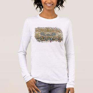 T-shirt À Manches Longues Vue de perspective de la salle de bal, construite