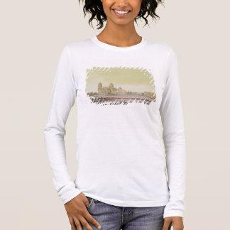 T-shirt À Manches Longues Vue du carré principal à Mexico (l'anglais de