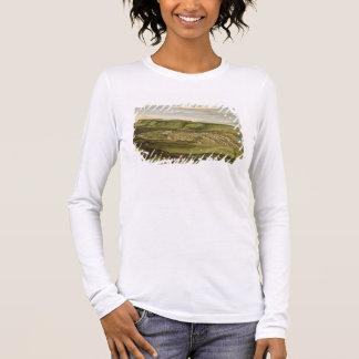 T-shirt À Manches Longues Whitehaven, Cumbria, montrant Flatt Hall,