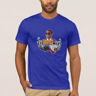 T-shirt à motifs de losanges