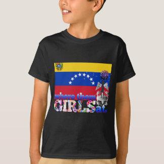 T-shirt À où ils filles vénézuéliennes ?
