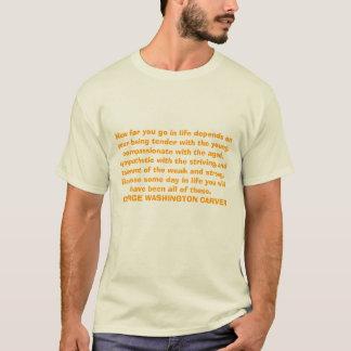 T-shirt À quelle distance vous entrez dans la vie dépend