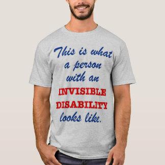 T-shirt À quoi l'incapacité invisible ressemble-t-elle ?
