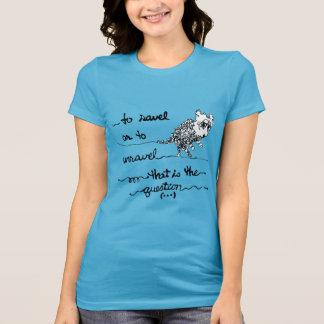 T-shirt À Ravel ou pour se démêler