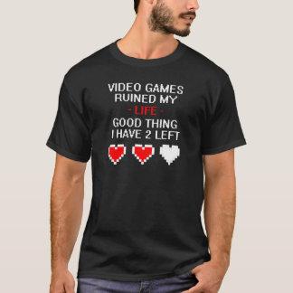 T-shirt A ruiné ma vie, le style 2