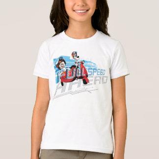 T-shirt À toute vitesse en avant