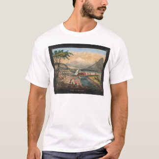T-shirt À travers le continent (0005A)