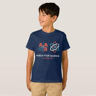 T-shirt Aas + Mars pour la Science ; Enfants ! - Marine