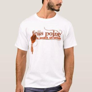 T-shirt Abat la pièce en t de point