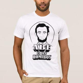 T-shirt Abe est mon Homeboy