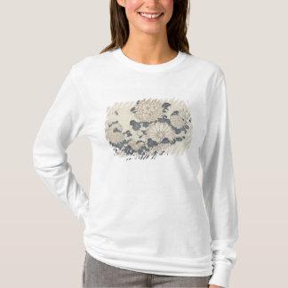 T-shirt Abeille et chrysanthèmes