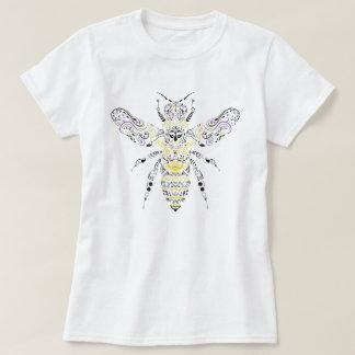 T-shirt abeille fleurie de miel