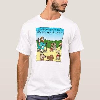 T-shirt Abraham et la terre de la canine