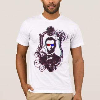 T-shirt Abraham Lincoln en verres 3D