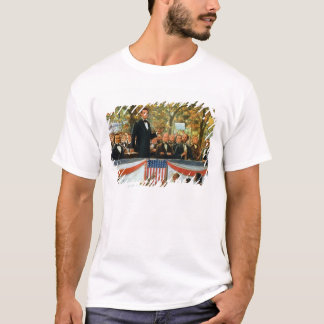 T-shirt Abraham Lincoln et Stephen A. Douglas