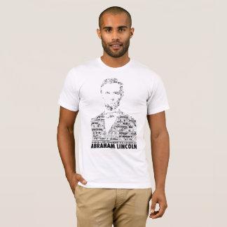 T-shirt Abraham Lincoln slogan tee-shirt