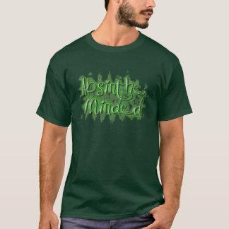 T-shirt Absinthe occupée