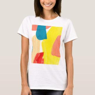 T-shirt Abstraction jaune