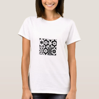 T-shirt abstrait