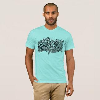 T-shirt abstrait