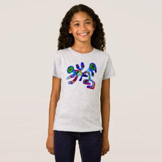 T-shirt abstrait de papillon