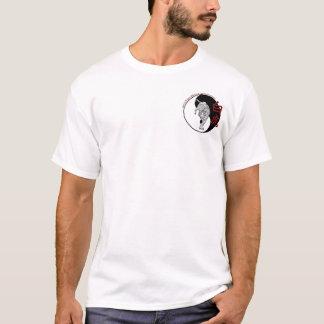 T-shirt Académie blanche d'arts martiaux de tigre - voyage