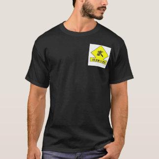 T-shirt Académie défensive de la tactique de Dojo de Tassa