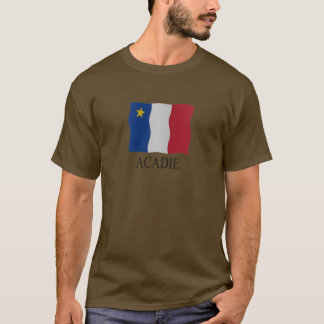 T-shirt Acadian flag